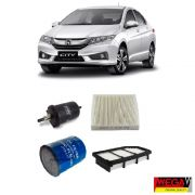KIT FILTROS HONDA CITY 1.5 2014 2015 2016 2017 2018 2019 FIT 1.5 2014 2015 2016 2017 2018 2019