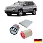 KIT FILTROS JEEP COMPASS 2.0 2012 2013 2014 2015 2016
