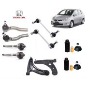 KIT SUSPENSAO + BANDEJA COMPLETA HONDA FIT 2003 2004 2005 2006 2007 2008