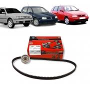 KIT TENSOR E CORREIA GATES SEAT CORDOBA 1.8 8V IBIZA 1.6 8V 1994/1999 VW GOLF 1.8/2.0 8V 1995/2000 SAVEIRO 1996/2008