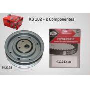 KS102 - KIT TENSOR E CORREIA GATES GOL, PARATI, PASSAT, VOYAGE, QUANTUM, SANTANA