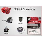 KS105 - KIT TENSOR E CORREIA GATES GOL E PARATI POWER, POLO