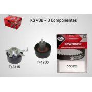 KS402 - KIT TENSOR E CORREIA GATES OMEGA, S10, VECTRA, FOCUS, MONDEO