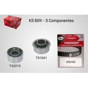 KS604 - KIT TENSOR E CORREIA GATES SPORTAGE, ELANTRA, I30, TUCSON