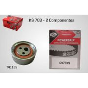 KS703 - KIT TENSOR E CORREIA GATES LOGAN, SANDERO, CLIO, MEGANE, EXPRESS, KANGOO