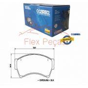 PN185 - Pastilha Freio Dianteira Fusion 2005-2012 - Cobreq