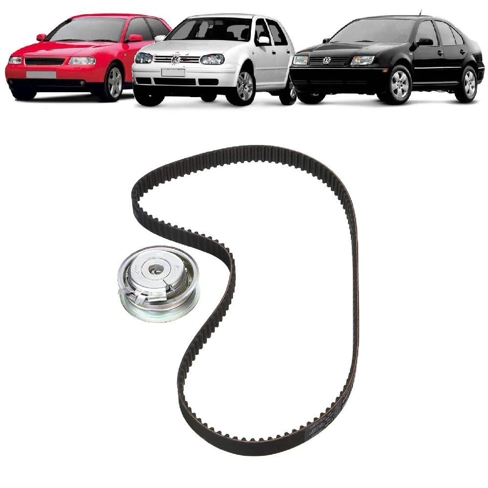 KIT TENSOR E CORREIA GATES AUDI A3, SEAT CORDOBA, IBIZA 1.6 8V 1999/2002 VW BORA 2.0 8V 2000/2007 GOLF 1.6 8V 1998/2001  - FLEX PECAS COMERCIO DE AUTOPECAS