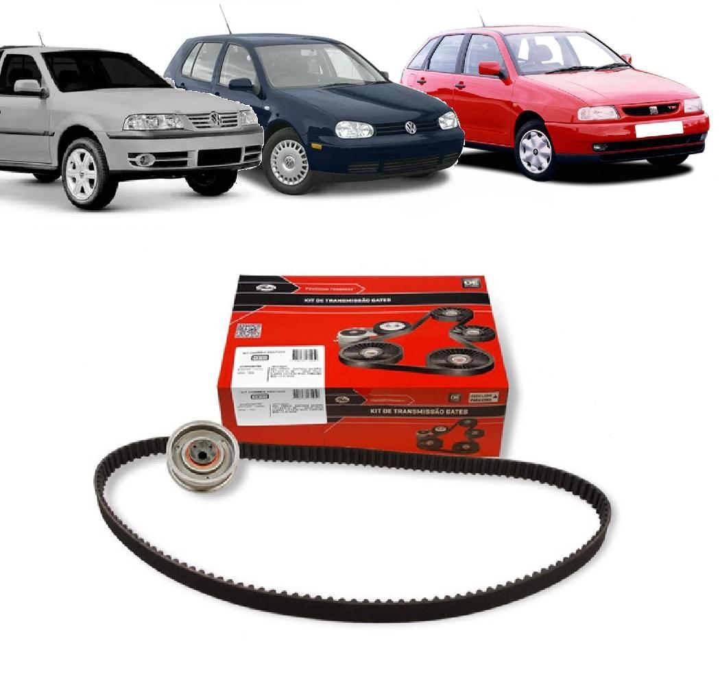 KIT TENSOR E CORREIA GATES SEAT CORDOBA 1.8 8V IBIZA 1.6 8V 1994/1999 VW GOLF 1.8/2.0 8V 1995/2000 SAVEIRO 1996/2008  - FLEX PECAS COMERCIO DE AUTOPECAS