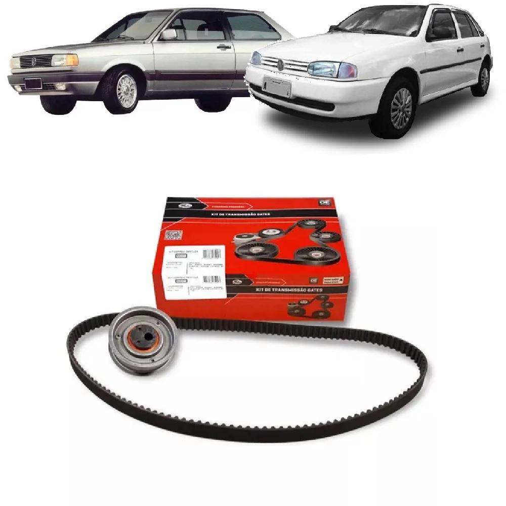 KIT TENSOR E CORREIA GATES VW GOL 1.6/1.8/2.0 8V 1991/1996 SANTANA 1.8/2.0 8V 1984/1996 VOYAGE 1.6/1.8/2.0 8V 1981/1996  - FLEX PECAS COMERCIO DE AUTOPECAS