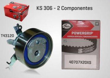KS306 - KIT TENSOR E CORREIA GATES OMEGA, S10, VECTRA