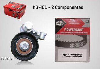 KS401 - KIT TENSOR E CORREIA GATES COURIER, FIESTA