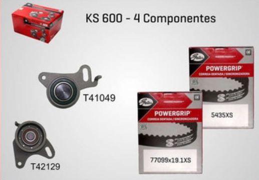 KS600 - KIT TENSOR E CORREIA GATES L200, PAJERO, H-100, HR, BONGO