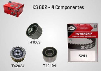KS802 - KIT TENSOR E CORREIA GATES FORESTER, IMPREZA, LEGACY