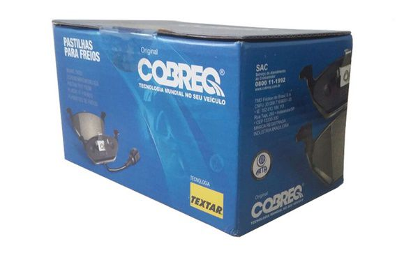 N710 - Pastilha Freio Dianteira Sprinter 2000/... - Cobreq  - FLEX PECAS COMERCIO DE AUTOPECAS