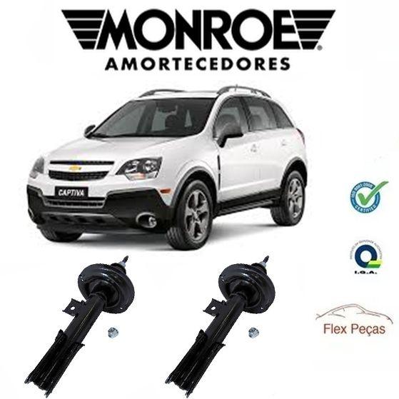 PAR AMORTECEDOR DIANTEIRO MONROE CAPTIVA 2.4 3.0 3.6 2008 ATÉ 2017