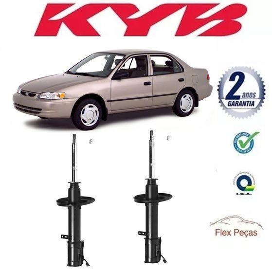 Par Amortecedor Dianteiro Toyota Corolla 1992 Até 2002 Kyb
