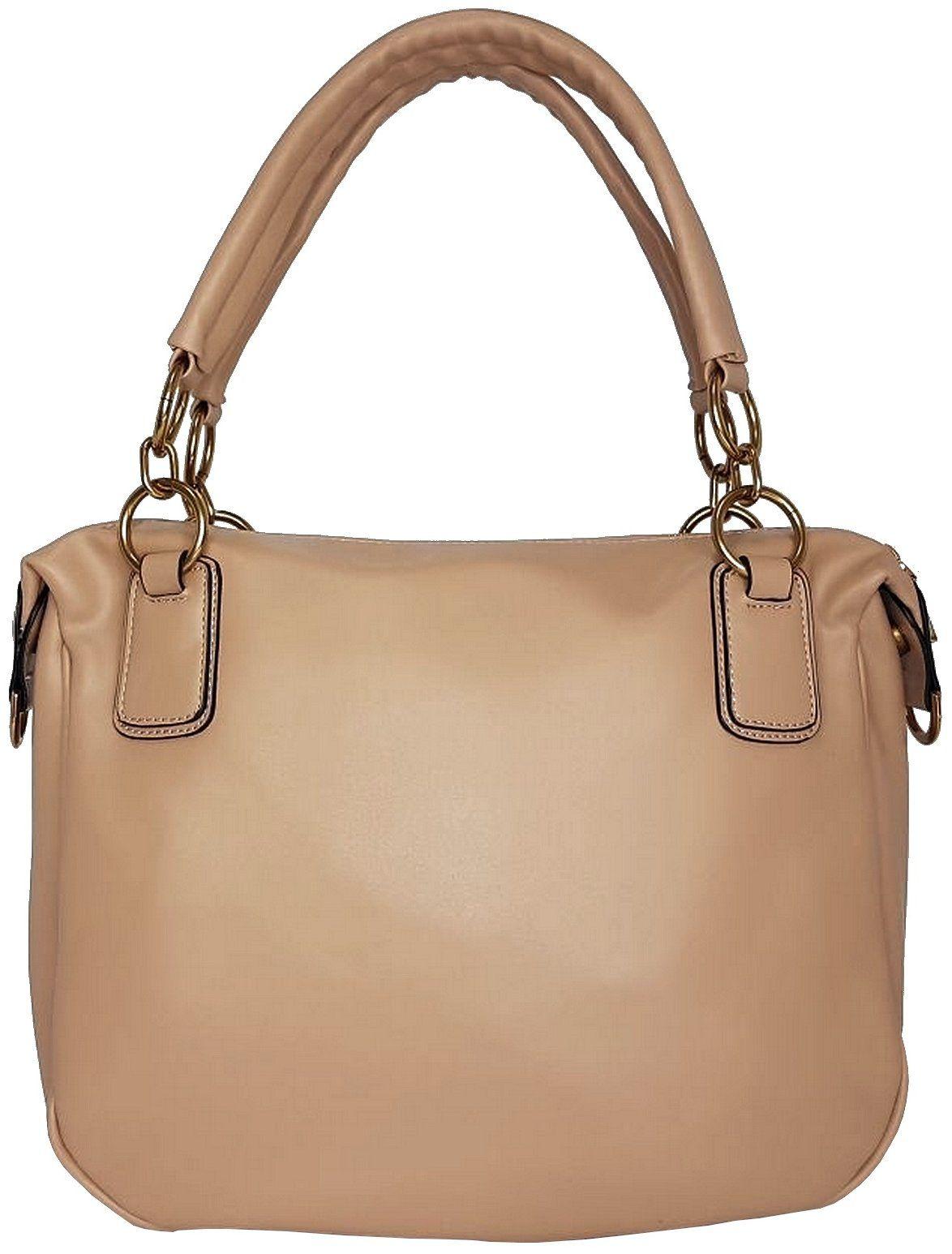 06636d6ce Bolsa GIO Antonelli Tote Bag em Couro Ecológico Nude - Vistabella Bolsas e  Acessórios