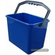 Balde 4 litros Retangular - Azul
