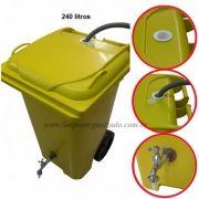 Contentor 240 litros para reaproveitamento de água