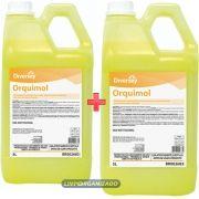 Orquimol - Detergente para lavagem de motos e carros 2 x 5 litros