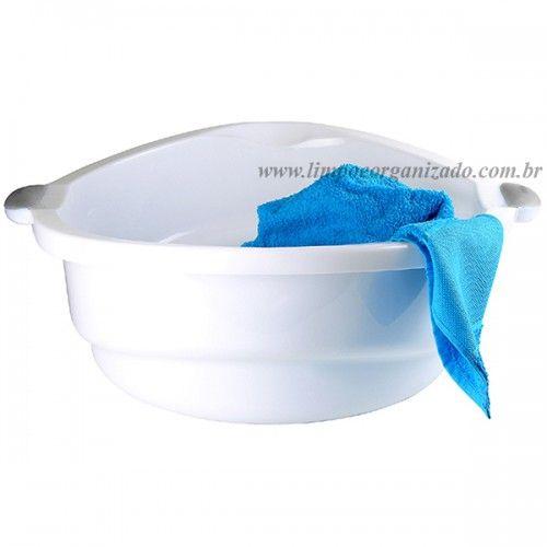 Bacia 14 litros Fluir  - Limpo e Organizado
