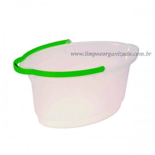 Balde 14 litros Oval Hydrus  - Limpo e Organizado