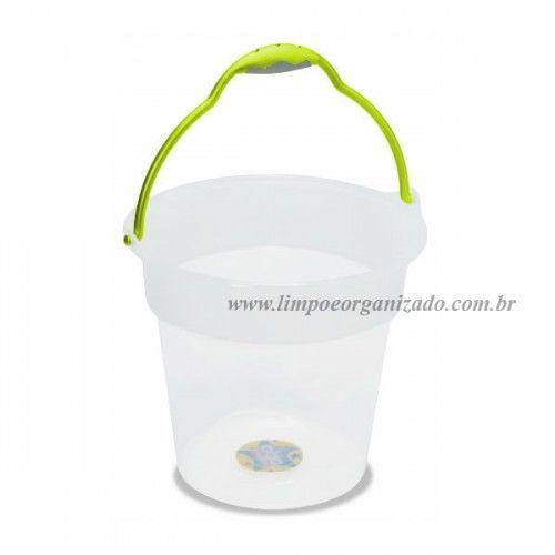 Balde 15 litros Oba  - Limpo e Organizado