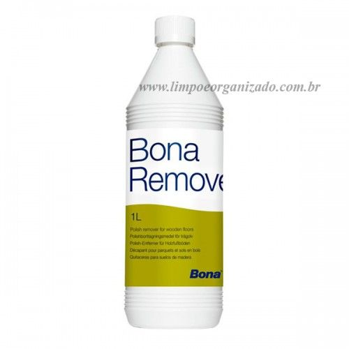 Bona Remover 1 litro  - Limpo e Organizado