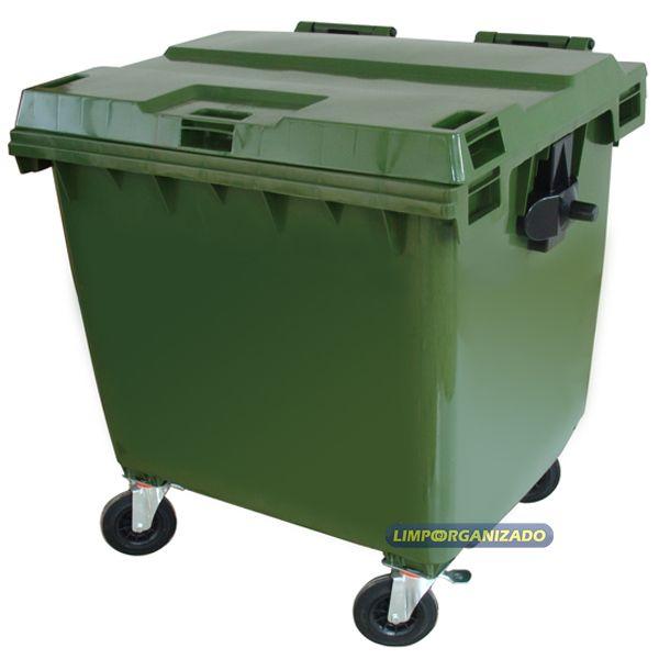 Carro coletor 1000 litros  - Limpo e Organizado