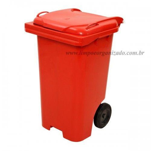 Contentor 120 litros  - Limpo e Organizado
