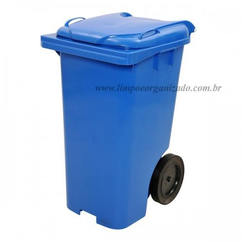 Contentor 240 litros  - Limpo e Organizado