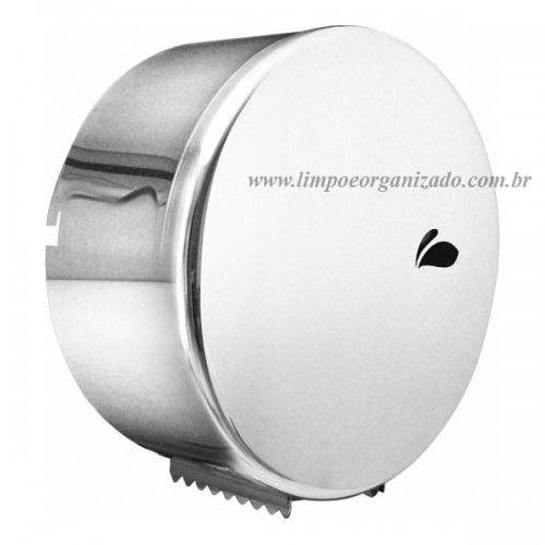 Dispenser inox para papel higiênico - Rolão  - Limpo e Organizado