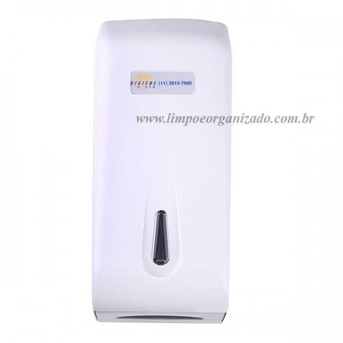 Dispenser para papel higiênico - intercalado  - Limpo e Organizado