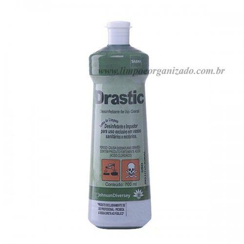 Desincrustante Drastic 700 ml - Caixa com 12 und.  - Limpo e Organizado
