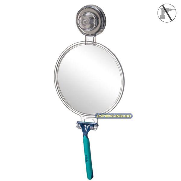 Espelho Anti-embaçante Future  - Limpo e Organizado