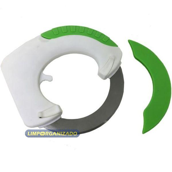 Faca giratória circular multi-funções  - Limpo e Organizado