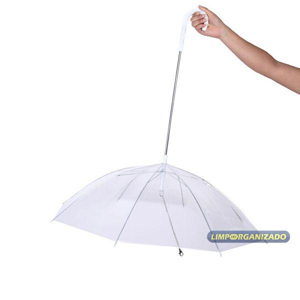 Guarda-chuva Sombrinha para Cachorro Pet  - Limpo e Organizado