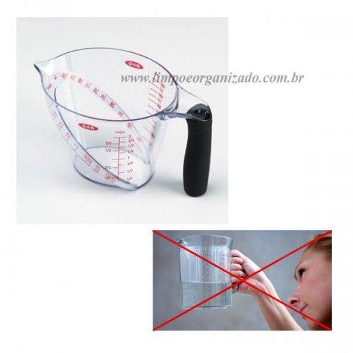 Jarra Dosadora OXO 1000 ml  - Limpo e Organizado