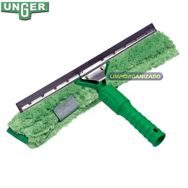 Lavador limpador de vidros combinado Vice Versa 45cm Microfibra - Unger  - Limpo e Organizado
