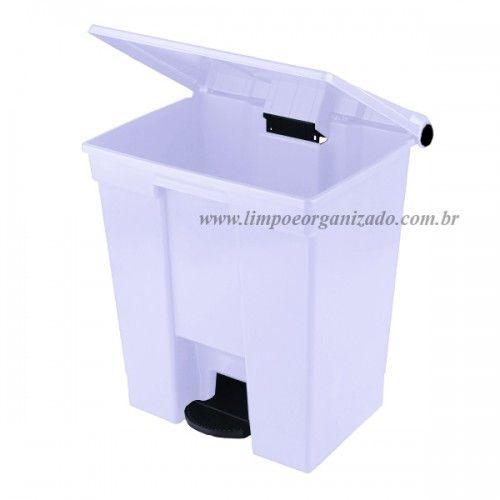 Lixeira 30 litros com Pedal  - Limpo e Organizado