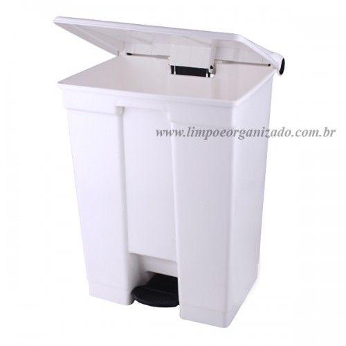 Lixeira 60 litros com Pedal  - Limpo e Organizado