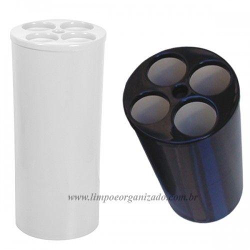 Lixeira Tubular 24x50 para Copos de  água  - Limpo e Organizado