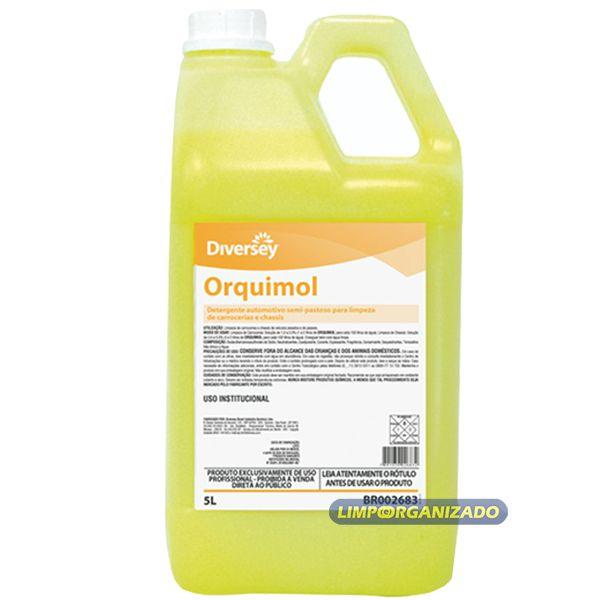 Orquimol - Detergente para uso automotivo  - Limpo e Organizado