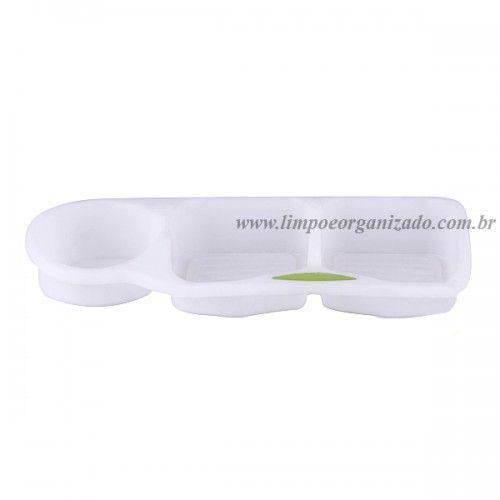 Porta Detergente e Esponja  - Limpo e Organizado