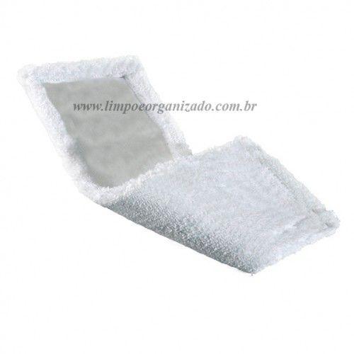 Refil Mop Pó Microfibra 40cm para Galaxy Top  - Limpo e Organizado