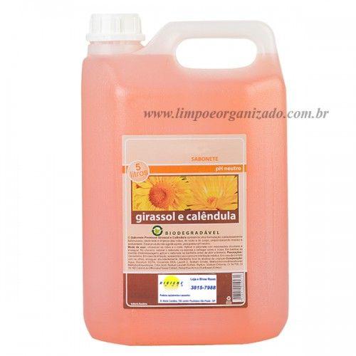 Sabonete Girassol e Calêndula  - Limpo e Organizado