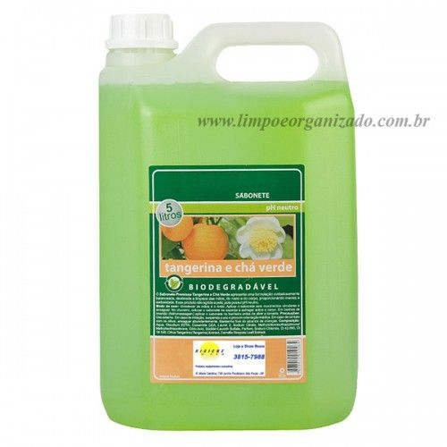 Sabonete Tangerina e Chá Verde  - Limpo e Organizado