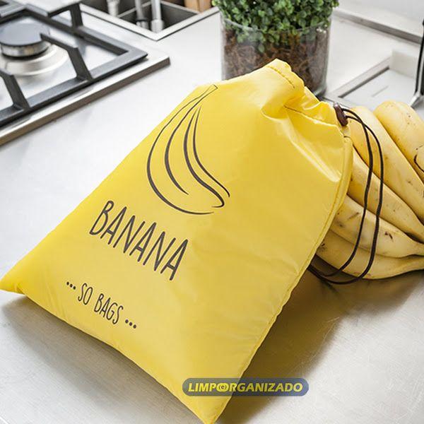 So Bags Banana - Saco para conservação de bananas  - Limpo e Organizado