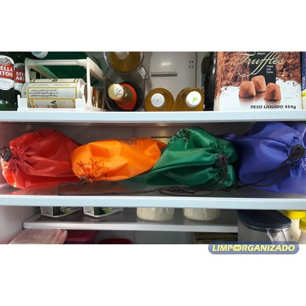 So Bags greens - Saco para conservação de verduras  - Limpo e Organizado