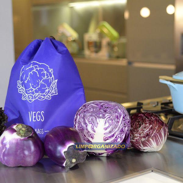 So Bags vegs - Saco para conservação de vegetais  - Limpo e Organizado